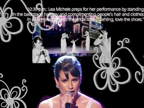 Lea Michele Wallpaper !