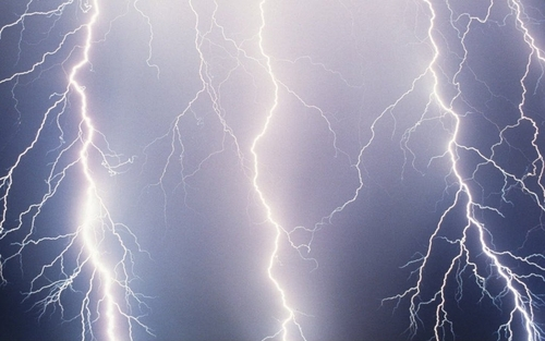Lightning - facebook Wallpaper