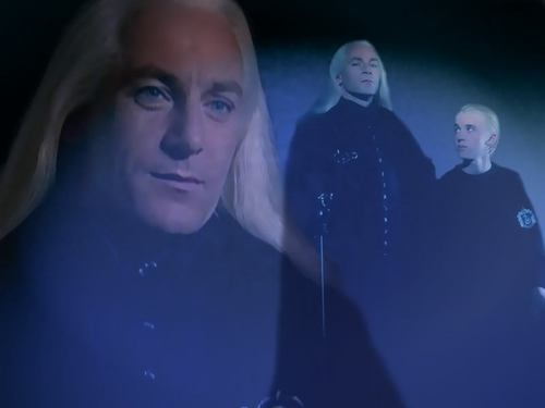 Lucius and Draco WP I've done