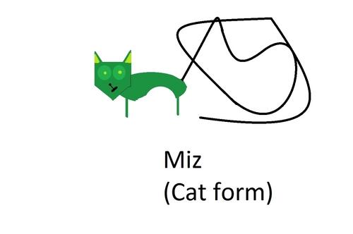 MIZ IS A CAT?!?!?!