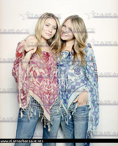 Mary-Kate and Ashley, Simon Upton Shoot