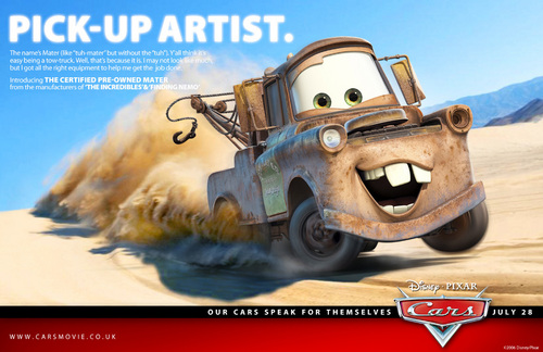 Disney Pixar Cars wallpaper called Mater the tow truck pictures