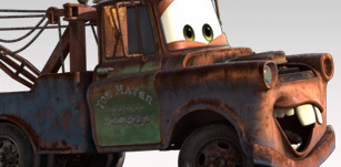 Disney Pixar Cars achtergrond entitled Mater the tow truck pictures