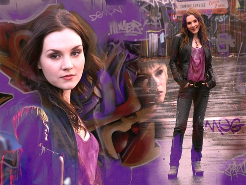 Meg [Supernatural] - female-ass-kickers Wallpaper