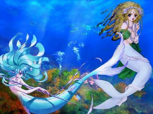 Mermaid fondo de pantalla I've done