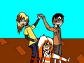Mine and Krista's OC's:Zatch,Mr.Fluffykins,and Leeroy - total-drama-island fan art