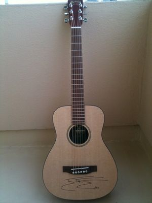 Miscellanous > Guitar donated to Helping Haiti Heal