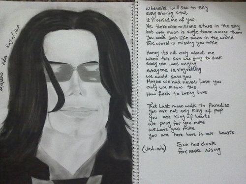 My MJ's Sketch