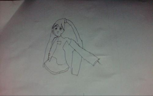 My Miku Drawing