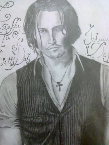 My Sketch Of Johnny On His Bday!!
