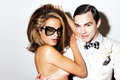 Nicholas Hoult and Carolyn Murphy: Tom Ford Eyewear