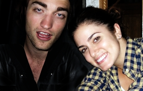 Nikki Reed and co-star robert pattinson