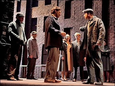 On Stage with A View From the Bridge Cast