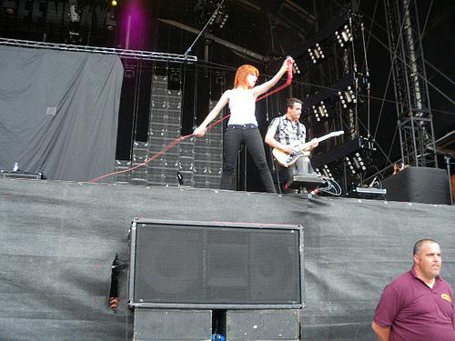 Paramore in Paris