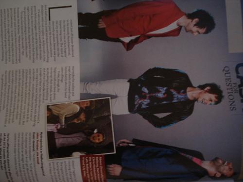 Q magazine I JUST received!!