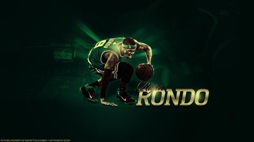 Rajon Rondo Hintergrund entitled RR