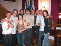 Robin Hood cast at pub 2  - lucy-griffiths photo