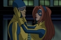 Scott and Jean in WATX - scott-summers-and-jean-grey screencap