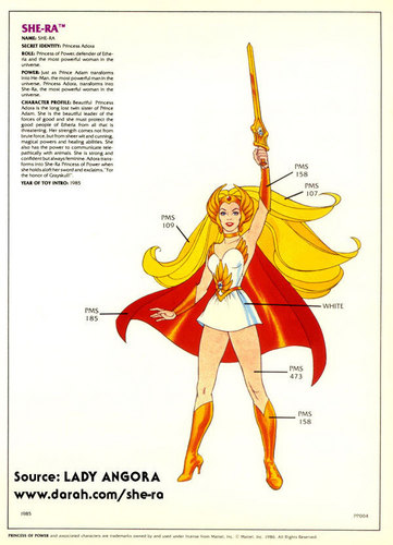 She-ra design