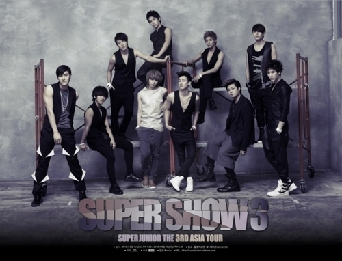 Super Junior The 3rd Asia Tour Super Show 3