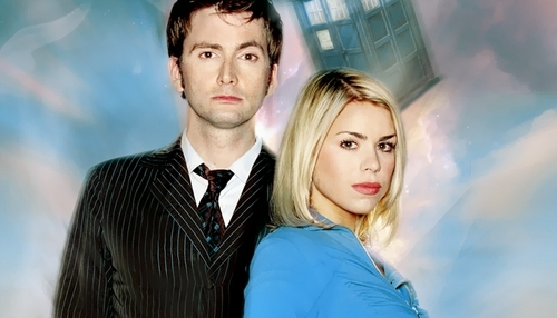 The Doctor and Rose wallpaper called Ten&Rose <3