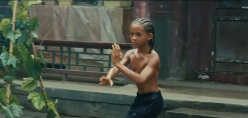 The Karate Kid - Jaden Smith Image (13316390) - Fanpop Karate Kid Crane Kick Jaden Smith