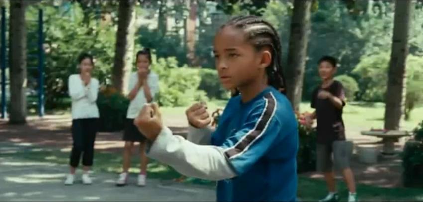 Karate Kid Pictures Jaden Smith images Karate Kid Crane Kick Jaden Smith
