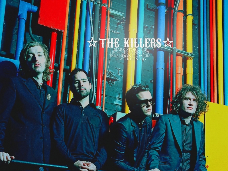 the killers wallpaper. The Killers lt;3