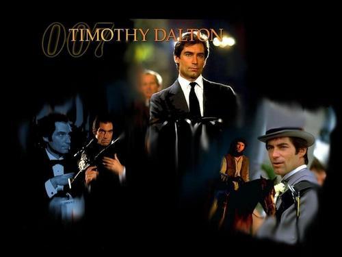 Timothy Dalton As 007 James Bond