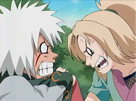 Tsunade and Jiraiya