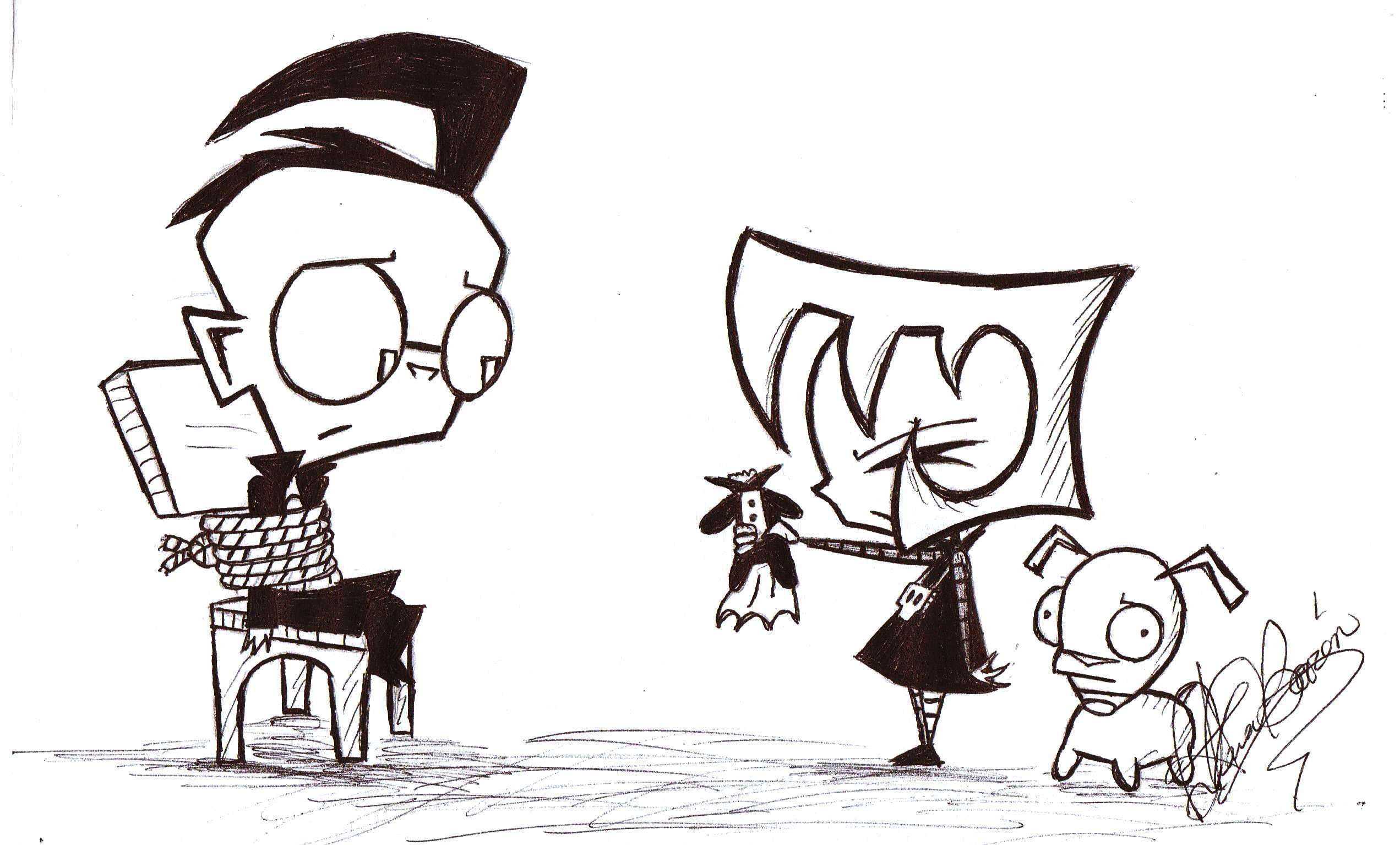 Invader Zim images Your turn to suffer HD wallpaper and background ...