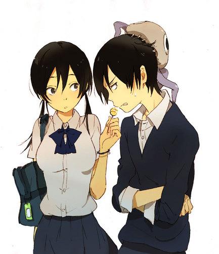 Yuki & Shū omnomnom