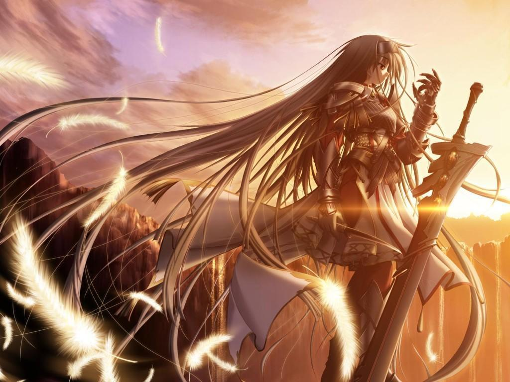 Anime Warrior Images Anime Warrior Hd Wallpaper And Background Photos