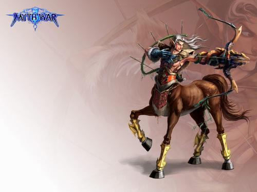 thần thoại Hy lạp hình nền called centaur