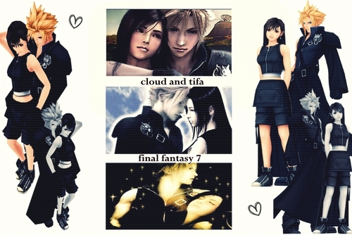 nuage and tifa