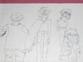 gorillaz drawings