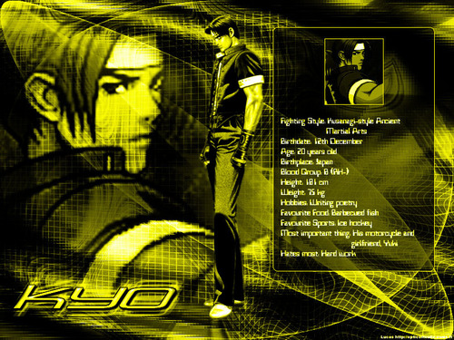 kyo- king of fighters