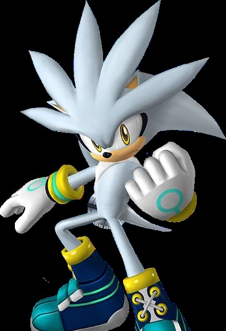 Silver the Hedgehog silver extreme gear