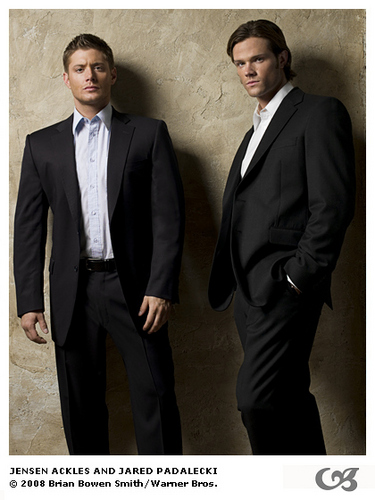 supernatural season 5 - jared-padalecki-and-jensen-ackles Photo