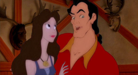 Disney Villains پیپر وال titled vanessa/gaston