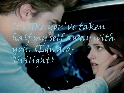 Twilight Saga Фильмы Обои called Bella & Edward