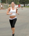 Jennifer Morrison at the Padres Contra El Cancer Annual Stand for Hope 5K Run Walk, Rose Bowl - house-md photo
