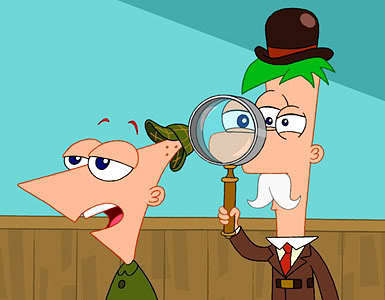 --more Phineas and Ferb pics--