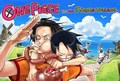Ace and Luffy - ace-d-portgas fan art