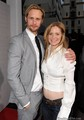 Alexander Skarsgrd and Kristin Bauer - eric-and-pam photo