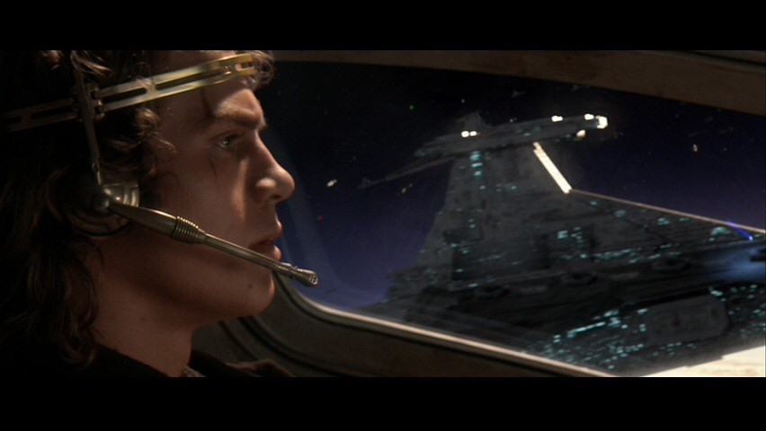 Anakin Skywalker- SW ep III: Battle Over Coruscant