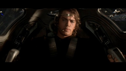 Anakin Skywalker achtergrond called Anakin Skywalker- SW ep III: Battle Over Coruscant