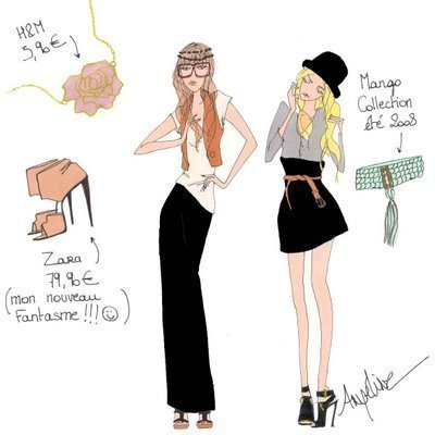 Angeline Malin drawings...<3 them