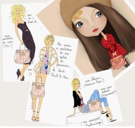 Angeline Melin drawings..again...<3