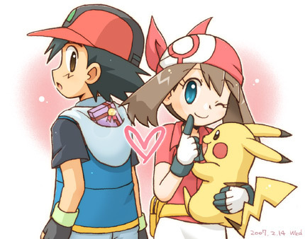 Ash and May - pokemon Fan Art